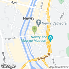 Map of Hair Traffic Salon in Newry, county down
