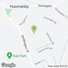 Map of A & R Pest Control in Hunmanby, Filey, north yorkshire