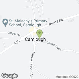 Map of Kathleen McCreesh Photography in Camlough, Newry, county down
