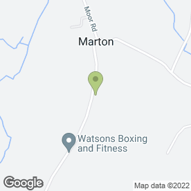 Map of Ryan Watson Tree Surgery in Marton, Ulverston, cumbria