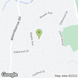 Map of Croftlands Park P.O in Ulverston, cumbria
