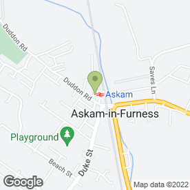 Map of Harry Barker Properties Ltd in Askam-In-Furness, cumbria