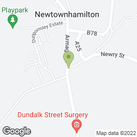 Map of Vickey Donaldson Photography in Newtownhamilton, Newry, county down
