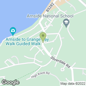 Map of Floor Sanding Services in Arnside, lancashire