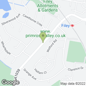 Map of J Haxby in Filey, north yorkshire