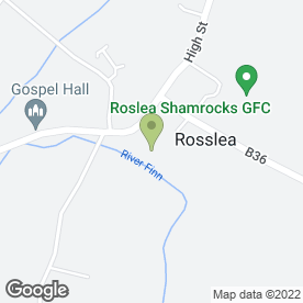 Map of Rosslea Community Playgroup in Rosslea, Enniskillen, county fermanagh