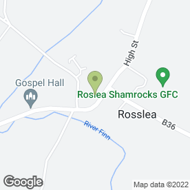 Map of Roslea Medical Practice in Enniskillen, county fermanagh