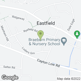 Map of Dri Homes Uk in Eastfield, Scarborough, north yorkshire