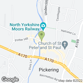 Map of Hays Travel Ltd in North Yorks, north yorkshire