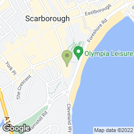 Map of The Grand Hotel Scarborough in Scarborough, north yorkshire