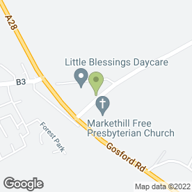 Map of Little Blessings Daycare in Markethill, Armagh, county armagh