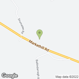 Map of Markethill Joinery Works in Markethill, Armagh, county armagh