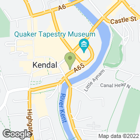 Map of National Tyres and Autocare in Kendal, cumbria