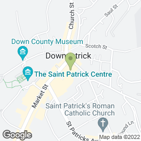 Map of Mirabelle Bar in Downpatrick, county down