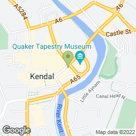 Map of Bellissimo Beauty in Kendal, cumbria