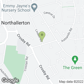 Map of Allerton Removals & Storage in NORTHALLERTON, north yorkshire