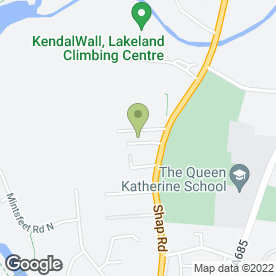 Map of Kaizen Recruitment Solutions Ltd in Kendal, cumbria