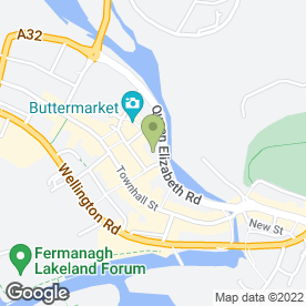 Map of Quiz Clothing in Enniskillen, county fermanagh