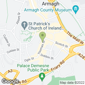 Map of Sheelagh Mc Bride Boutique Fashion in Armagh, county armagh