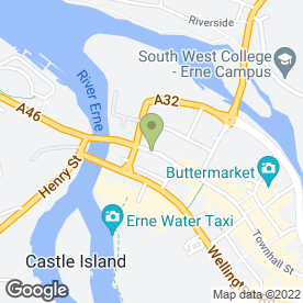 Map of K M Cleaners in Enniskillen, county fermanagh
