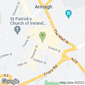 Map of H.A Emerson & Son in Armagh, county armagh