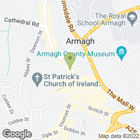 Map of Cahoons Jewellers in Armagh, county armagh