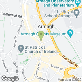 Map of Papilio Beauty And Services Clinic in Armagh, county armagh
