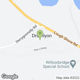 Map of Graham's Driving Tuition in Drumlyon, Enniskillen, county fermanagh