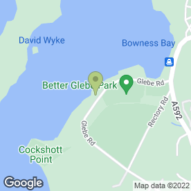 Map of Lake View in Windermere, cumbria