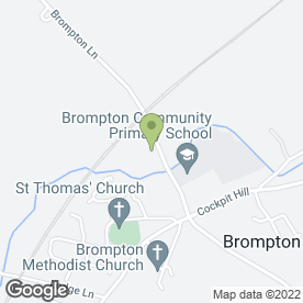 Map of D & S Waring in Brompton, Northallerton, north yorkshire