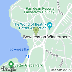 Map of Hole Int Wall/ New Hall Inn in Bowness-on-Windermere, Windermere, cumbria