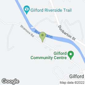 Map of S.C Engineering in Gilford, Craigavon, county armagh