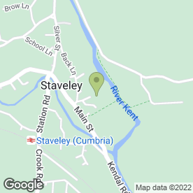 Map of Friendly Food & Drink in Staveley, Kendal, cumbria
