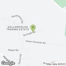 Map of NH Flooring in Gallowfields Trading Estate, Richmond, north yorkshire