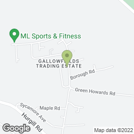 Map of RICHMOND MOTOR SERVICES in Gallowfields Trading Estate, Richmond, north yorkshire