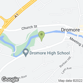 Map of SuperValu Dromore in Dromore, county down