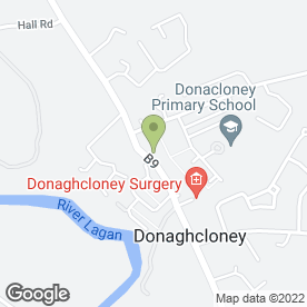 Map of Village Cellars in Donaghcloney, Craigavon, county armagh