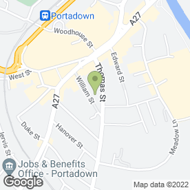 Map of BEAUTY BY MAC in Portadown, Craigavon, county armagh