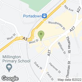 Map of WILLIAMS ESTATE AGENTS in Portadown, Craigavon, county armagh