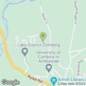 Map of Hindle Cleaning Services Ltd in Ambleside, cumbria