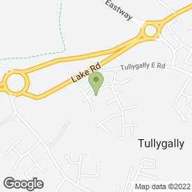 Map of All Covered in Tullygally, Craigavon, county armagh