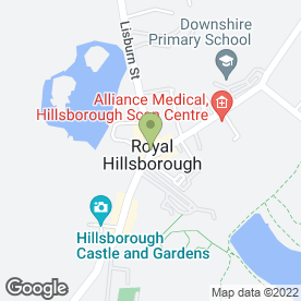 Map of Devine Beauty in HILLSBOROUGH, county down