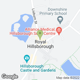 Map of Shaw & Company Solicitors in Hillsborough, county down
