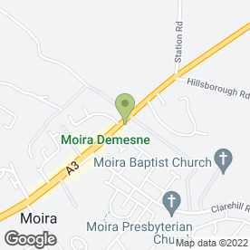 Map of Bluegator Creative in Moira, Craigavon, county armagh
