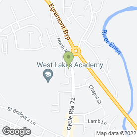 Map of Elite Autocare & MOT Centre in Egremont, cumbria