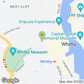 Map of The Stonehouse in Whitby, north yorkshire