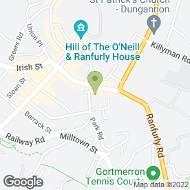 Map of Northland Studio in Dungannon, county tyrone