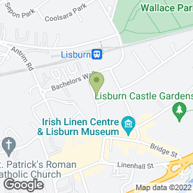 Map of R.E Gibb International in Lisburn, county antrim