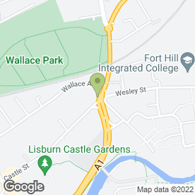 Map of Stepping Stones Ni Ltd in Lisburn, county antrim