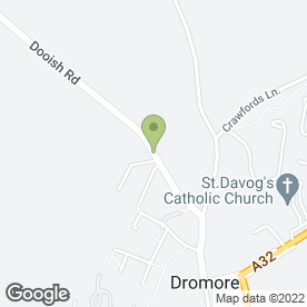Map of Dromore Floors in Dromore, Omagh, county tyrone